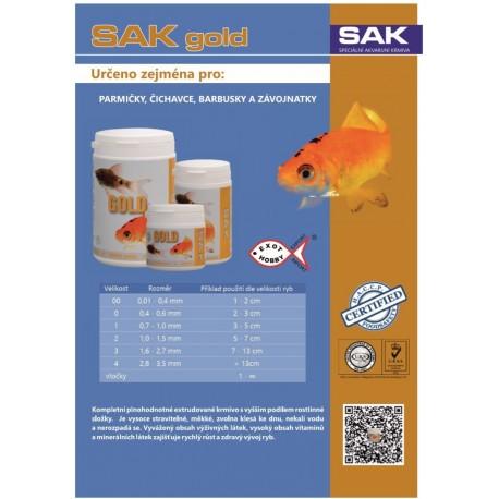 S.A.K. Gold granules