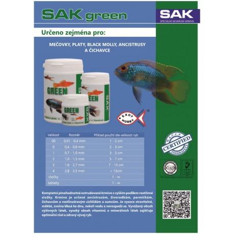 SAK Green granule